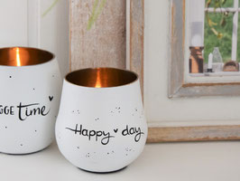 "Windlicht ""Jule"" - *Happy day*"