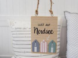 "Holzschild ""Jenke"" - Lust auf Nordsee"