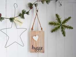 "Holzschild ""Knud"" - *hygge*"