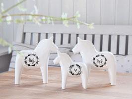 """Dala-Pferd """"Frido"""" -  hej - im schwedischen Landhausstil"""