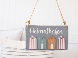 """Holzschild """"Mika"""" - *Heimathafen*"""