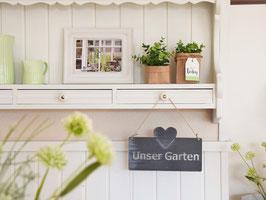 """Metallschild """"Lieke"""" - *Unser Garten*"""