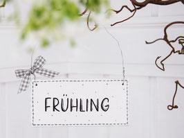 """Holzschild """"Maya"""" - """"Frühling"""" , im skandinavischen Landhausstil"""