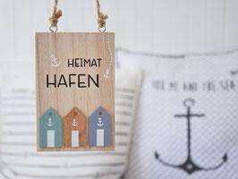 """Holzschild """"Hayo"""" - Heimathafen"""