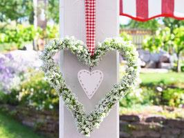 """Blütenherz """"Lina"""" - im skandinavischen Landhausstil"""