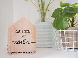 """Holzhaus """"Nils"""" - *DAS LEBEN ist schön*"""