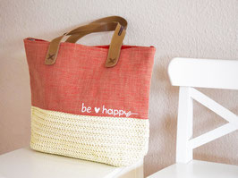"Tasche ""Lina"" - be happy"