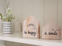 """Holzhäuser  """"Mikkel & Mia"""" - *be happy & smile* - bestehend aus 2 Häuschen"""