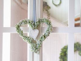 """Blütenherz """"Jella"""" - im skandinavischen Landhausstil"""