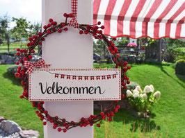 "Beerenkränzchen ""Fine""- *Velkommen*"