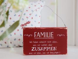 "Holzschild ""Emelie"""