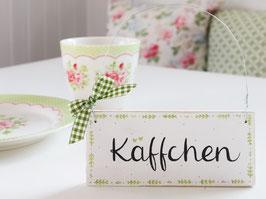 """Holzschild """"Lina"""" - """"Käffchen"""", im skandinavischen Landhausstil"""