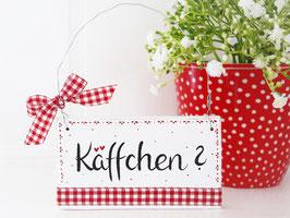 """Holzschild """"Aada"""" - """"Käffchen"""" -  im skandinavischen Landhausstil"""