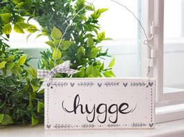 """Holzschild """"Lotte"""" - """"hygge"""" , im skandinavischen Landhausstil"""
