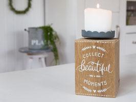 "Kerzenständer ""Pelle"" - aus Eiche - *Collect beautiful moments*"