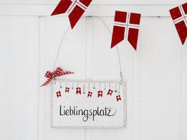 """Holzschild """"Magda"""" - *Liebligsplatz*"""