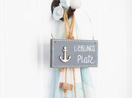 "Holzschild ""Tamme"" - *Lieblingsplatz*"