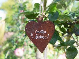 """Edelrost-Herz """"Freda"""" -  *Gartenliebe*"""