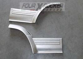 Coppia modanatura sportelli porte posteriori Mitsubishi Pajero 2 GLS
