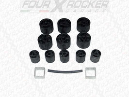 KIT RIALZO BODY LIFT +5 cm XT AUTOMOTIVE JEEP WRANGLER YJ 86-95 / FXR-BODY.YJ5