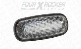 FRECCIA ANTERIORE LATERALE A LED VETRO BIANCO LAND ROVER DEFENDER TD5 / FXR-BMXGB100310LLED