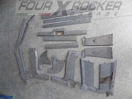 Kit modanature pannelli interni Jeep Cherokee XJ 3porte   84/96