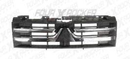 GRIGLIA MASCHERINA RADIATORE NERA C/MODANATURE CROMATE MITSUBISHI PAJERO V80 dal '07 / FXR-7450A368