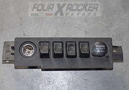 Comandi strumenti cruscotto centrale 56007452AF Jeep Cherokee XJ 97/01