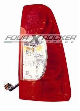 FANALE STOP POSTERIORE DX / SX BIANCO - ROSSO ISUZU D-MAX dal '07