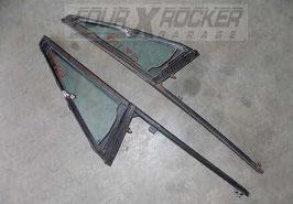 Deflettori anteriori portiere + guida Mitsubishi Pajero 1'serie