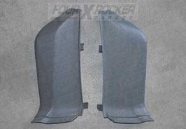 Coppia rivestimenti cover sedili posteriori interni apertura piedino BTR6845 - BTR6846 Range Rover 2 P38