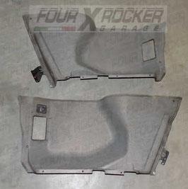 Coppia pannelli rivestimento laterali cofano bagagliaio posteriore Range Rover 2 P38