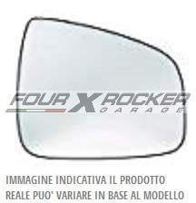 VETRO SPECCHIO SPECCHIETTO DX / SX FORD RANGER dal '12 / CON PIASTRA