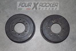 Coppia tamburi freno posteriori Nissan Terrano 2td 97-99