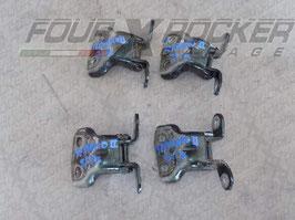 Coppia cerniere portiere sportelli posteriori Nissan Terrano 2 97-99  / 5 porte