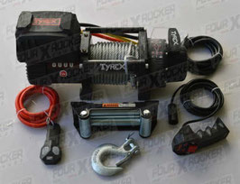 VERRICELLO TYREX 8000 LB CAVO ACCIAIO 12V SERIE BLACK COMPATTO / FXR-8000P