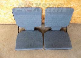 Coppia sedili posteriori bagagliaio 6° - 7° posti originali Land Rover Discovery 1 200tdi