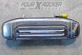 Maniglia cromata esterna sportello portiera posteriore SX (lato guida) Mitsubishi Pajero 2 - 5 porte