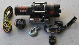 VERRICELLO TYREX ATV UTV 3500 LB CAVO SINTETICO SERIE BLACK - FXR3500SP