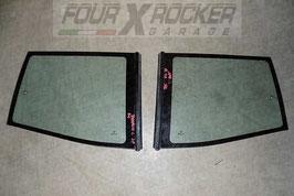 Vetri cristalli voletti posteriori con apertura a compasso  Nissan Terrano 2  97-99 - 3 porte