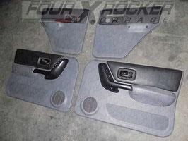 N.4 pannelli portiere Jeep Cherokee XJ 2.5td SPORT - 5 porte (1997-2001)