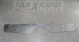 Coppia pedane in metallo paraurti posteriore Mitsubishi Pajero 2