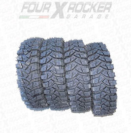 N°4 TRENO GOMME PNEUMATICI RUOTE COUGAR 4x4 145/80 R13 - TIPO MAXXIS