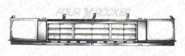 GRIGLIA RADIATORE NERA - ARGENTO NISSAN TERRANO 1   86>92  /  FXR-6231041G00