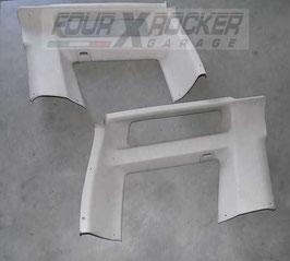 Coppia pannelli rivestimento superiore posteriore bagagliaio Land Rover Discovery 2 td5