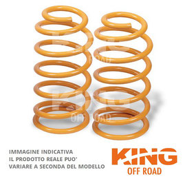 COPPIA MOLLE +5 POSTERIORI KING OFF ROAD JEEP GRAND CHEROKEE WJ dal 2000
