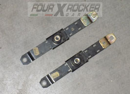 Coppia attacchi supporti regola altezza cinture di sicurezza anteriori Nissan Terrano 2 97-99