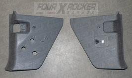 Coppia pannelli di rivestimento cover sotto cruscotto vano piedi Range Rover 2 P38