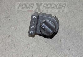 Interruttore pulsante regola altezza fari Land Rover Discovery 2 td5