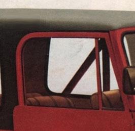 VETRO CRISTALLO SCENDENTE CHIARO  JEEP CJ 76-86